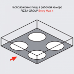 Печь для пиццы Pizza Group Entry Max 4